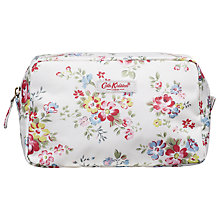 Buy Cath Kidston Highbury Rose Travel Pouch, Small, Stone Online at johnlewis.com