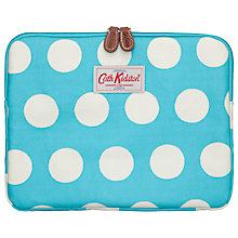 Buy Cath Kidston Big Spot iPad Case, Turquoise Online at johnlewis.com