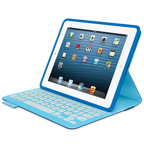 Buy Logitech Fabricskin Keyboard Folio for 2nd, 3rd & 4th Generation iPad Online at johnlewis.com