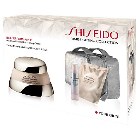 Buy Shiseido Bio Performance Revitilizing Time Fighting Collection Set Online at johnlewis.com