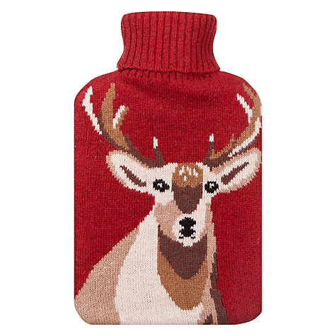 Buy Aroma Home Stag Hot Water Bottle, Wine Online at johnlewis.com