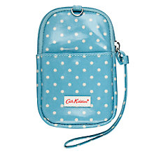 Buy Cath Kidston Mini Dot Gadget Case, Turquoise Online at johnlewis.com