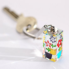 Buy Spaceform Cuboid Multi Flowerpot Keyring Online at johnlewis.com