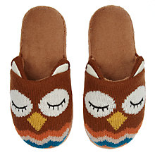 Buy Aroma Home Owl Slippers Online at johnlewis.com