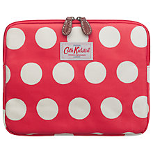 Buy Cath Kidston Big Spot iPad Case, Red Online at johnlewis.com
