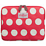 Cath Kidston Big Spot iPad Case, Red