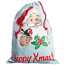 Buy Cath Kidston Santa Toy Sack Online at johnlewis.com