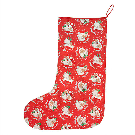 Buy Cath Kidston Santa Stocking Online at johnlewis.com