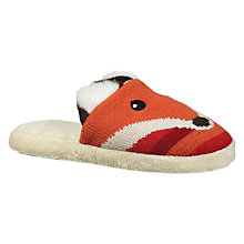 Buy Aroma Home Fox Slippers Online at johnlewis.com