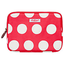 Buy Cath Kidston Big Spot eReader Case, Red Online at johnlewis.com