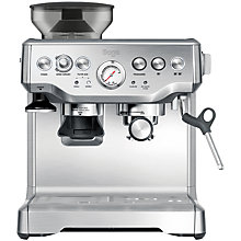 Buy Sage by Heston Blumenthal Barista Express Bean-to-Cup Coffee Machine, Silver Online at johnlewis.com