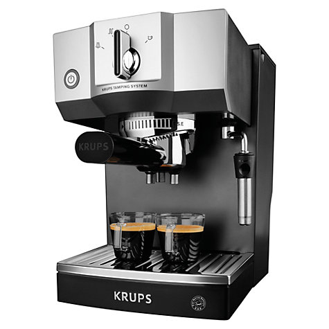 Buy KRUPS XP5620 Espresso Coffee Machine, Black Online at johnlewis.com