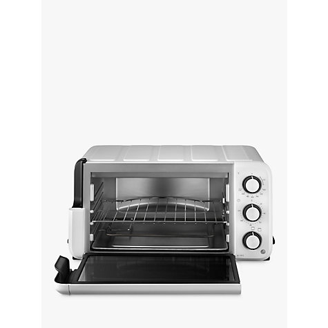 Buy De'Longhi EO12012.W Mini Oven, White Online at johnlewis.com
