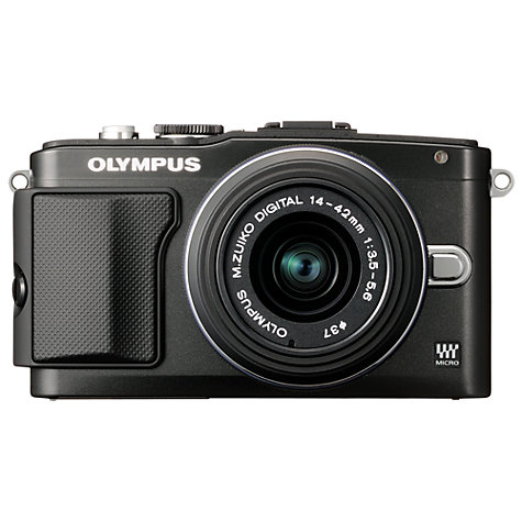 Buy Olympus PEN E-PL5 Compact System Camera with 14-42mm Lens, HD 1080p, 16.1MP, 3 LCD Touch Screen Online at johnlewis.com