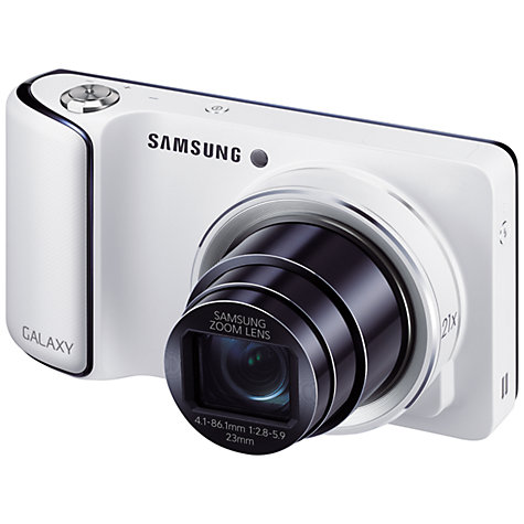 "Buy Samsung Galaxy Camera, HD 1080p, 21x Zoom, 16.3MP, Wi-Fi, GPS, 4.8"" Touch Screen Online at johnlewis.com"