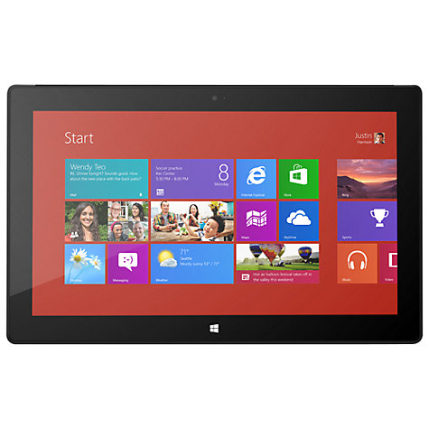 "Buy Microsoft Surface Pro, Intel Core i5, Windows 8 Pro, 10.6"", Wi-Fi, 64GB Online at johnlewis.com"
