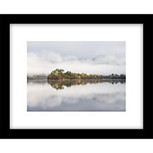 Buy James Bell - Misty Morning Framed Print, 44 x 54cm Online at johnlewis.com