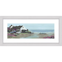 Buy Debbie Neill - Coastal House Framed Print, 52 x 107cm Online at johnlewis.com