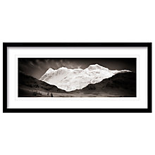 Buy Mike Shepherd - Spirit Langdales Framed Print, 49 x 104cm Online at johnlewis.com