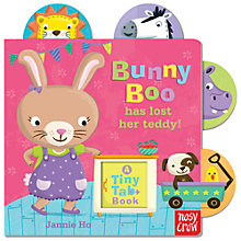Buy Tiny Tabs: Bunny Boo Has Lost Her Teddy Book Online at johnlewis.com