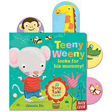 Buy Tiny Tabs: Teeny Weeny Looks For His Mummy Book Online at johnlewis.com