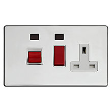 Buy Varilight 1 Gang Cooker Switch Online at johnlewis.com