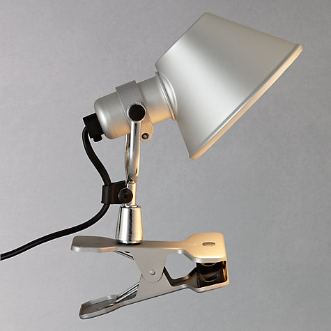 buy artemide tolomeo micro clip task light john lewis. Black Bedroom Furniture Sets. Home Design Ideas