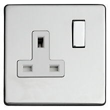 Buy Varilight 1 Gang Fused Socket and Switch Online at johnlewis.com