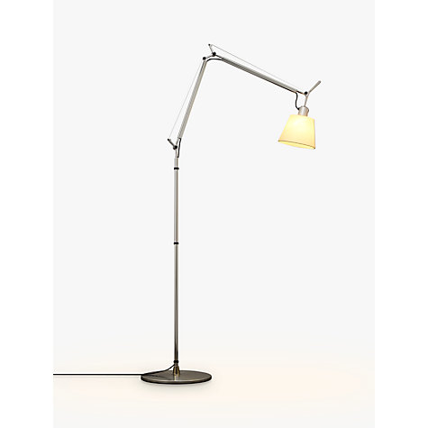 Buy Artemide Tolomeo Parchment Floor Lamp, Small Online at johnlewis.com