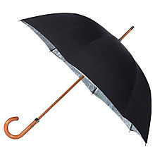 Buy London Undercover Premium London Map Umbrella, Black Online at johnlewis.com