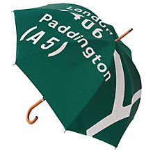 Buy London Undercover M1/A5 Umbrella, Green Online at johnlewis.com