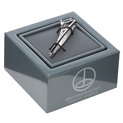 Buy Denison Boston Skimm Mother of Tie Tie Slide Online at johnlewis.com