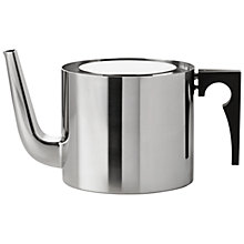 Buy Stelton Teapot, 1.25L, Black Online at johnlewis.com