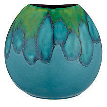 Buy Poole Pottery Tallulah Purse Vase Online at johnlewis.com