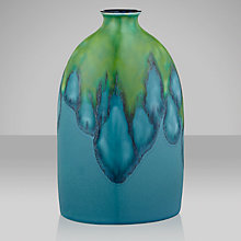 Buy Poole Pottery Tallulah Oval Bottle Vase Online at johnlewis.com