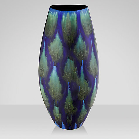 Buy Poole Pottery Alexis Manhattan Vase, H36cm, Blue Online at johnlewis.com