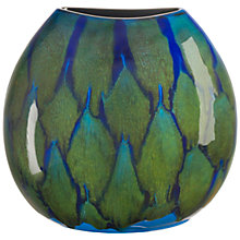Buy Poole Pottery Alexis Purse Vase, Blue Online at johnlewis.com