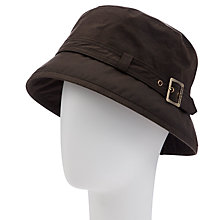 Buy Barbour Belted Cloche Hat, Olive Online at johnlewis.com