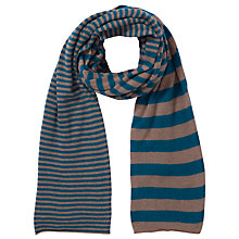 Buy John Lewis Stripe Reverse Scarf Online at johnlewis.com