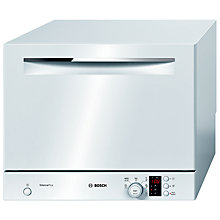 Buy Bosch SKS62E12EU Compact Freestanding Dishwasher, White Online at johnlewis.com