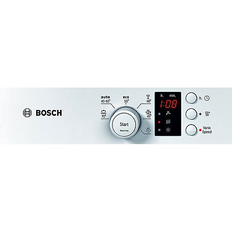 Buy Bosch SKS62E12EU Compact Dishwasher, White Online at johnlewis.com
