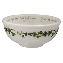 Buy Portmeirion The Holly & The Ivy Fruit Salad Bowl Online at johnlewis.com