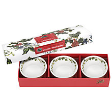 Buy Portmeirion The Holly & The Ivy Tealights, Set of 3 Online at johnlewis.com