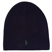 Buy Polo Ralph Lauren Beanie, One Size Online at johnlewis.com