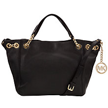 Buy MICHAEL Michael Kors Jet Set Chain Medium Leather Shoulder Handbag Online at johnlewis.com