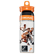 Buy Head Tournament Squash Balls Online at johnlewis.com