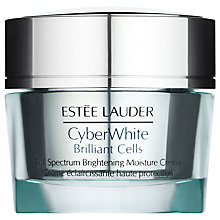 Buy Estée Lauder CyberWhite Brilliant Cells Full Spectrum Brightening Moisture Creme, 50ml Online at johnlewis.com