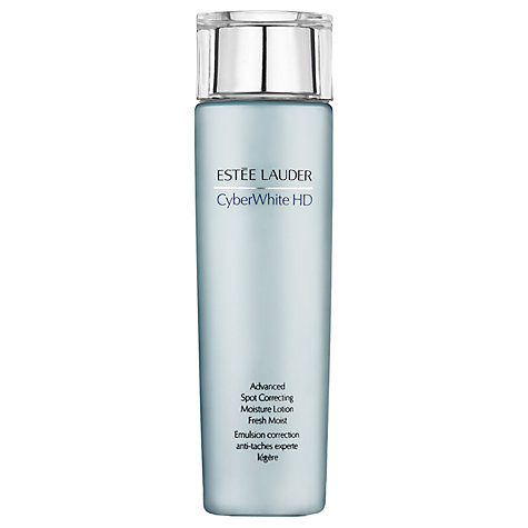 Buy Estée Lauder CyberWhite HD Advanced Spot Correcting Moisture Lotion, 200ml Online at johnlewis.com