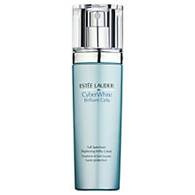 Buy Estée Lauder CyberWhite Brilliant Cells Full Spectrum Brightening Milky Lotion, 100ml Online at johnlewis.com