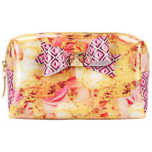 Buy Ted Baker Printed Bow Small Wash Bag Online at johnlewis.com